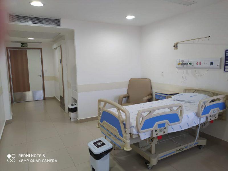 Exemplo de leito de UTI do Hapvida – Foto: Divulgação/ND
