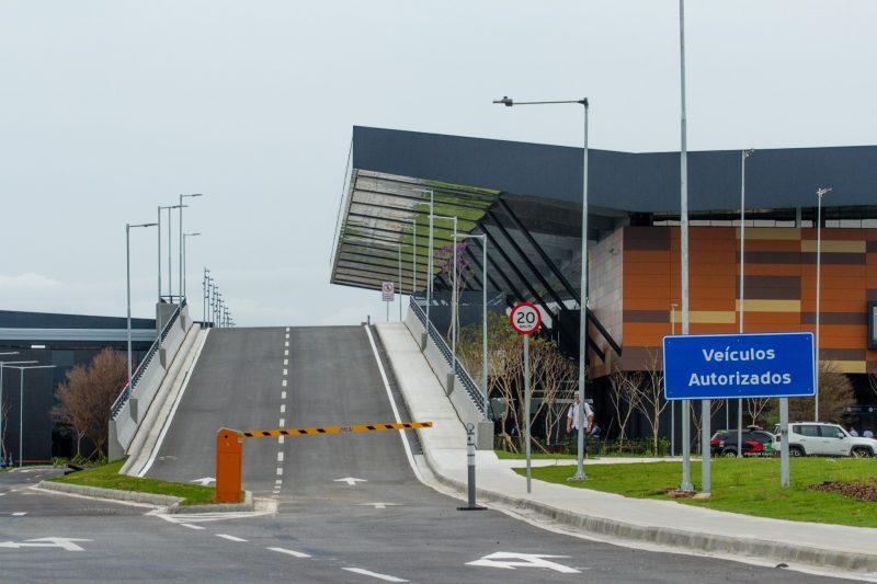 Novo terminal agora tem uma praça de entretenimento<br />e terraço panorâmico aberto ao público