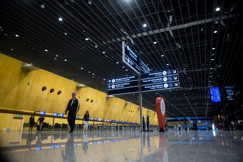 Capital tinha a pior nota entre os aeroportos do Brasil e hoje ocupa o 2º lugar na avaliação dos passageiros – Foto: Flávio Tin/ND