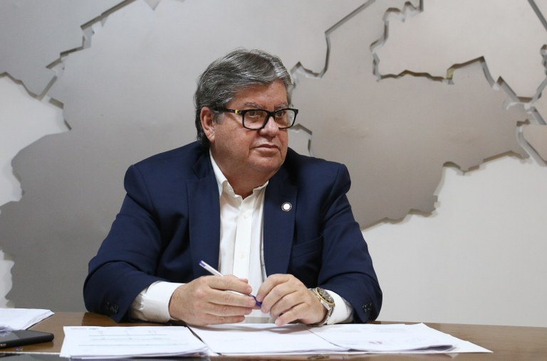 Governador da Paraíba, João Azevêdo – Foto: Francisco França/Governo da Paraíba/ND