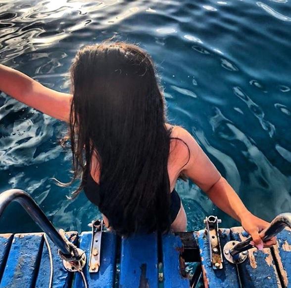 """Bruna garante que o acidente não irá afastá-la. """"Noronha continua sendo um sonho e espero ainda ter muitas experiências na ilha"""", disse. - Instagram/Divulgação ND"""