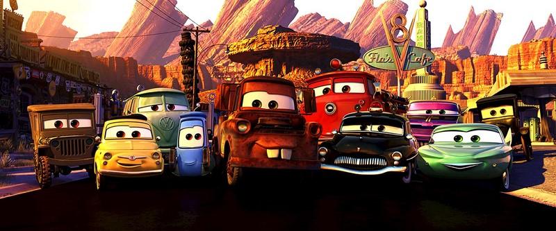 Carros (2006 - Disponível na Netflix) - Foto: Divulgação - Foto: Divulgação/Garagem 360/ND