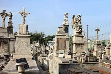 Cemitério no Rio de Janeiro – Foto: Divulgação/ND