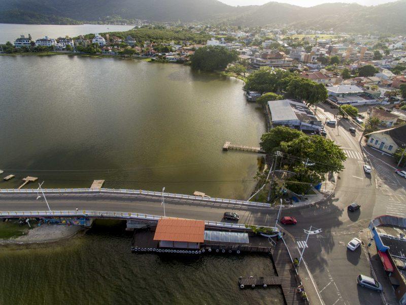 Lagoa da Conceição, em Florianópolis. Março de 2020. - Flávio Tin/ND