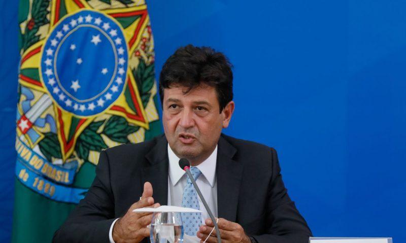 Ex-ministro da Saúde, Luiz Henrique Mandetta, prestou depoimento na CPI da Covid-19 nesta terça (4) – Foto: Isac Nóbrega/PR/ND