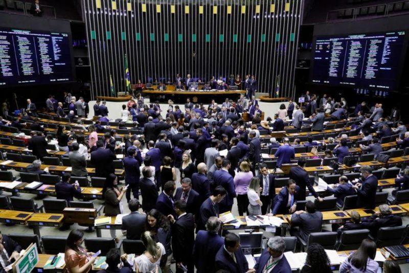 Aglomerações ainda devem ser evitadas em função do coronavírus, por isso, a votação desta segunda-feira (1º) será por grupo – Foto: Luis Macedo/Câmara dos Deputados/Divulgação/ND