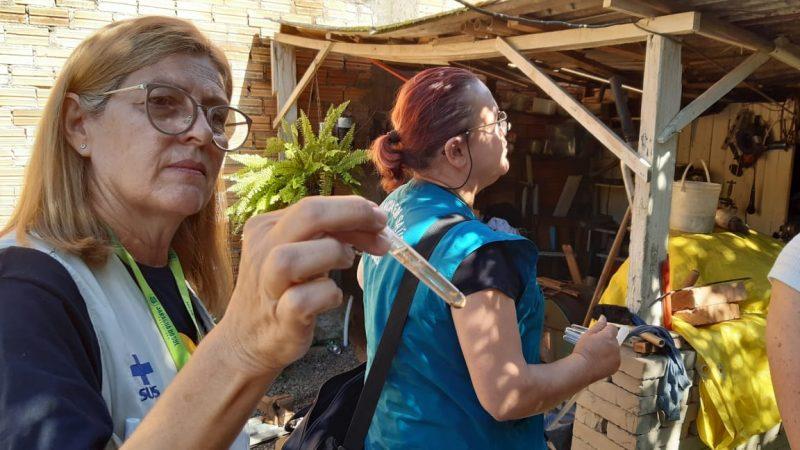Agentes devem visitar todos os bairros da cidade – Foto: Prefeitura de Jaraguá do Sul
