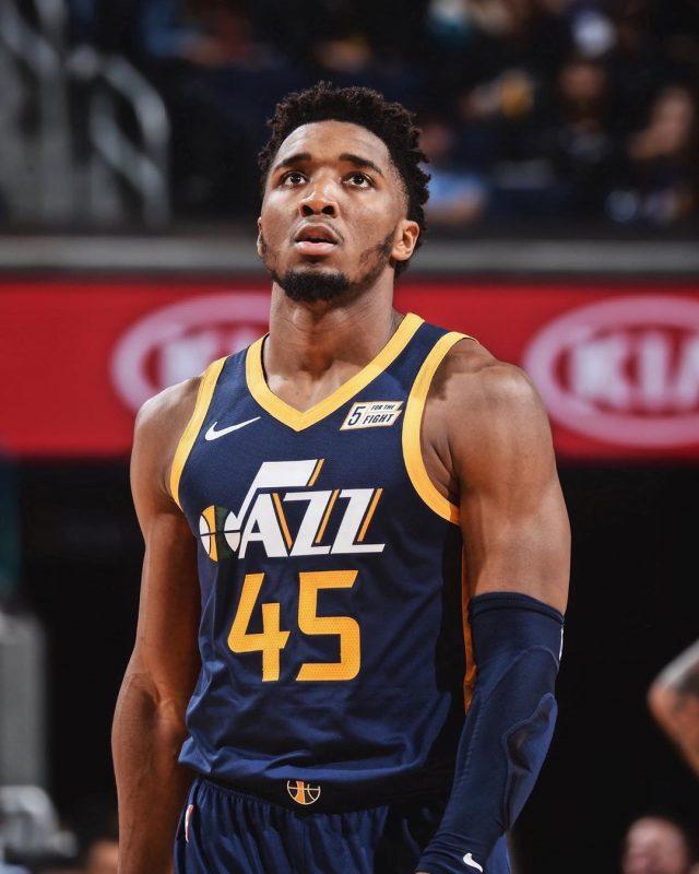 Donovan Mitchell, companheiro de Gobert no Utah Jazz - Reprodução/Instagram