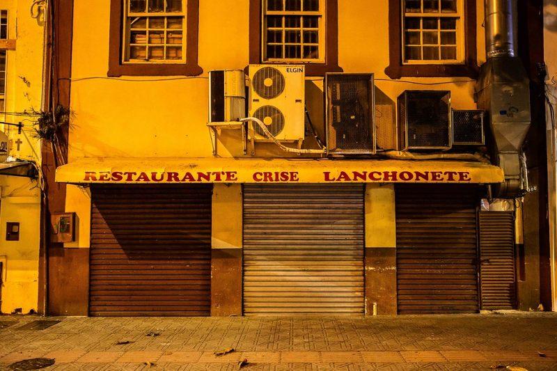 Estabelecimentos seguem fechados. - Anderson Coelho/ND