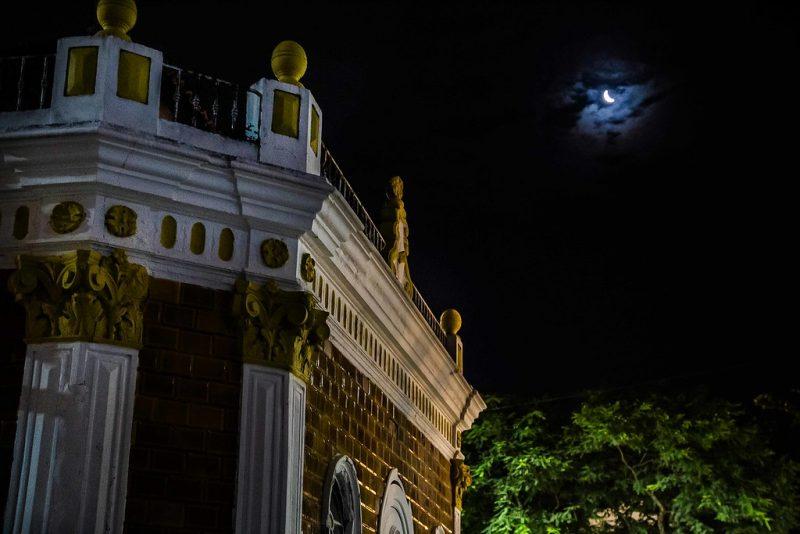 Noite de Florianópolis, deserta em função do isolamento social - Anderson Coelho/ND
