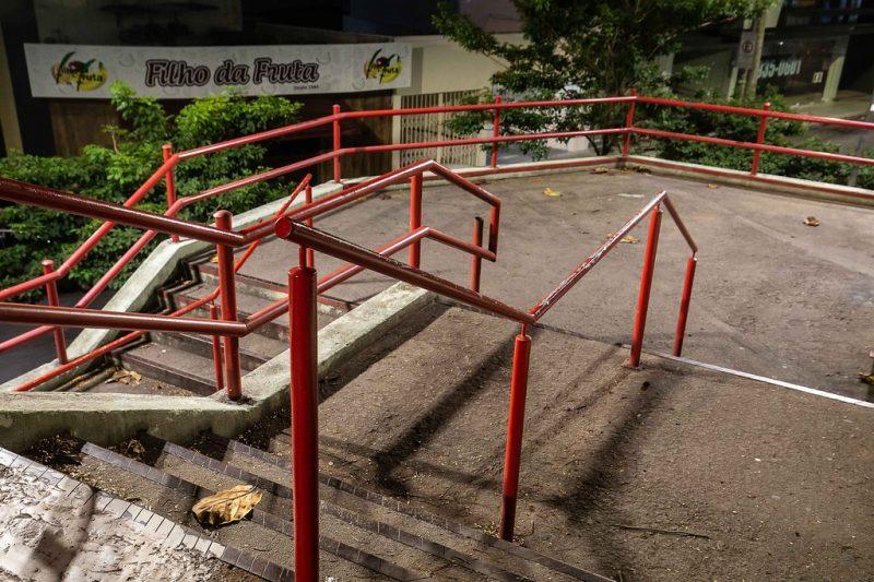 Ruas vazias - centro de Florianópolis, 29/03/2020 - Anderson Coelho/ND