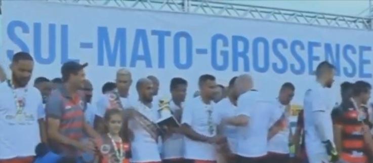 No campeonato Sul-Matogrossense, os jogos de futebol serão realizados normalmente sem a presença de público - Reprodução/YouTube