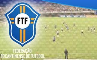 Em Tocantins, os jogos do campeonato estadual serão disputadas sem público - Federação Tocantinense de Futebol/Divulgação