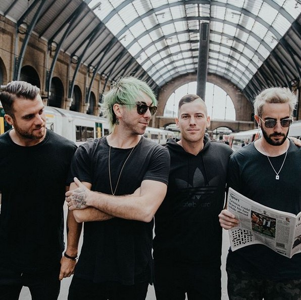 All Time Low – https://bit.ly/3eg4Zba - Crédito: Instagram/33Giga/ND