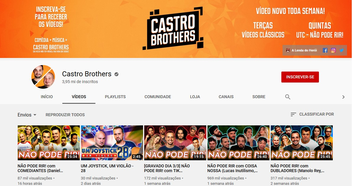 The Castro Brothers ' (www.youtube.com/marcoscct) - Credit: Play YouTube 33Giga/NA