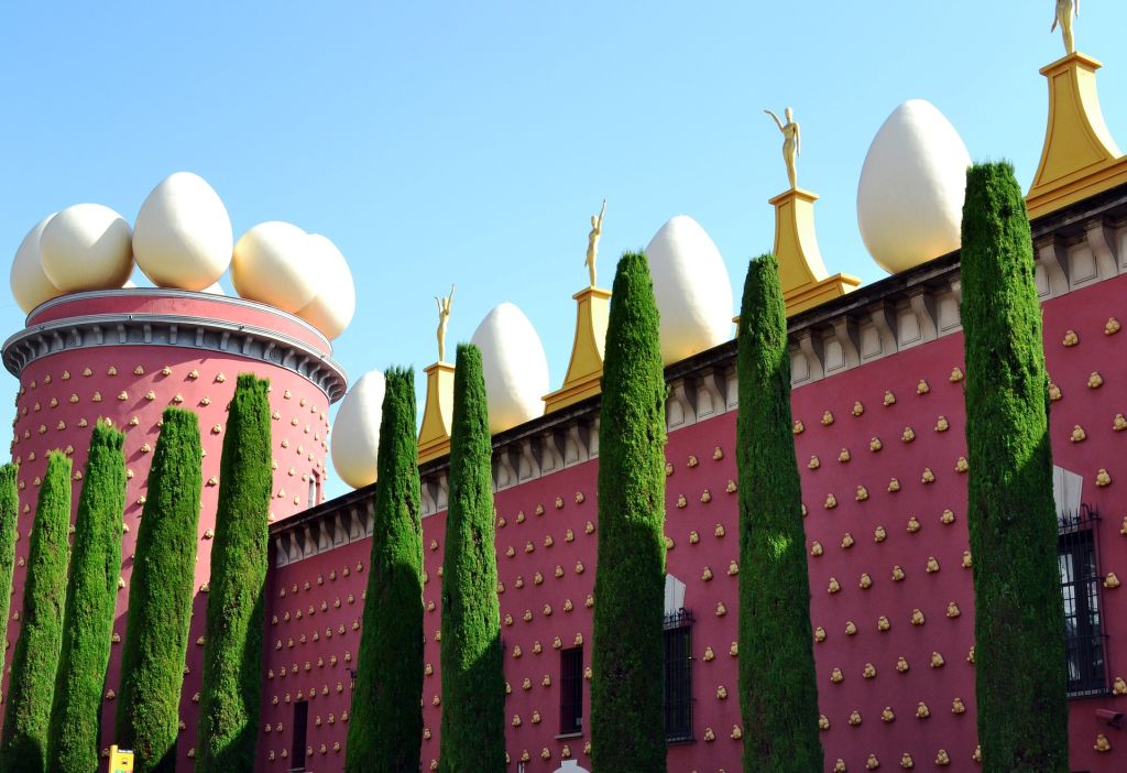 Teatro-Museu Dalí, Catalunia - https://www.salvador-dali.org/en/museums/dali-theatre-museum-in-figueres/visita-virtual/ - Pixabay - Pixabay /Rota de Férias/ND
