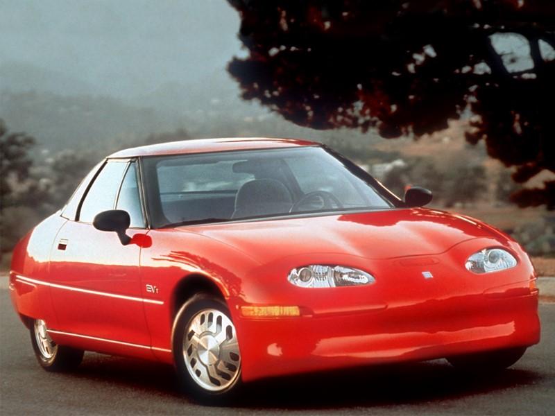 Chevrolet EV1 (1996) - Foto: Divulgação/Chevrolet/Garagem 360/ND