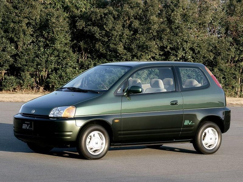 Honda EV Plus (1997) - Foto: Divulgação/Honda/Garagem 360/ND
