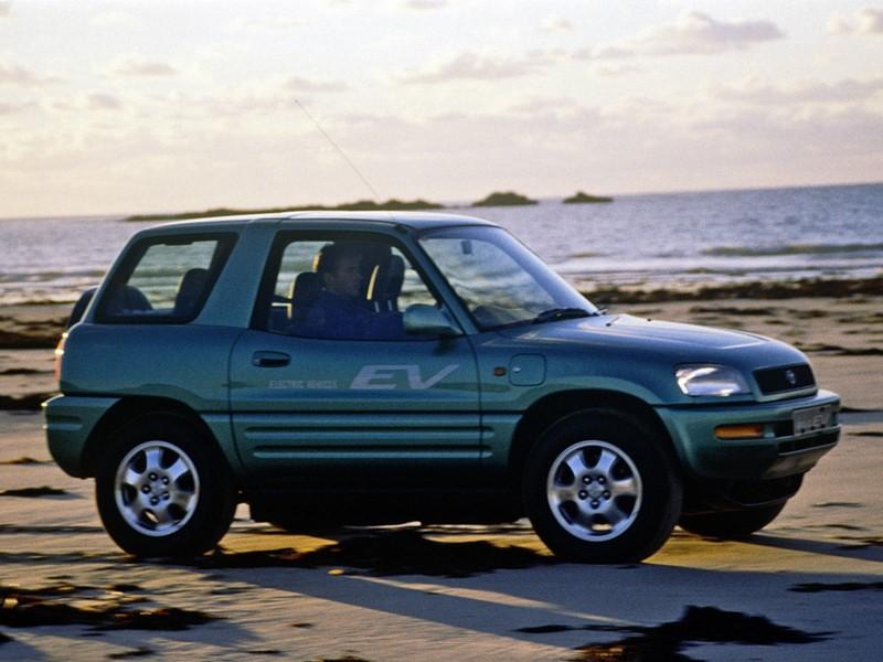 Toyota RAV4 EV (1997) - Foto: Divulgação/Toyota/Garagem 360/ND