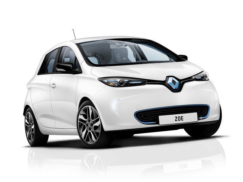 Renault Zoe (2012) - Foto: Divulgação/ Renault/Garagem 360/ND