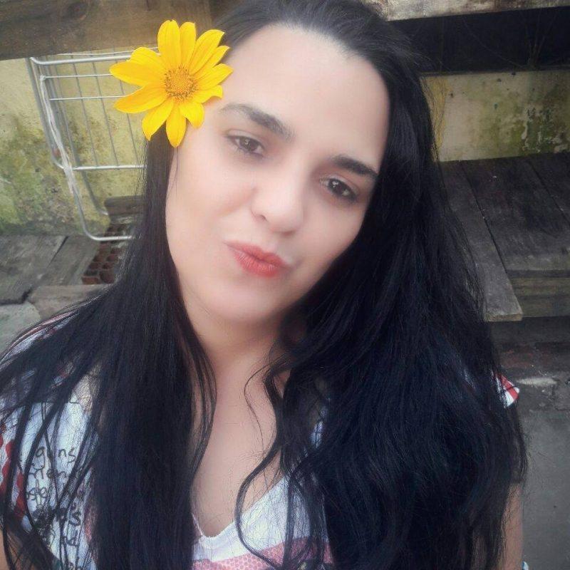 A moradora de Itajaí Elza Michele Telles, de 40 anos, morreu no dia 9 de junho, no Hospital Marieta Konder Bornhausen. Ela estava internada devido ao tratamento contra um câncer e também positivou para coronavírus. - Reprodução Facebook/ND