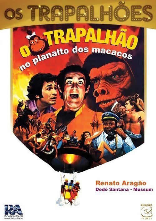 21. O Trapalhão no Planalto dos Macacos (1976) – 4,5 milhões de pagantes - Crédito: Divulgação/33Giga/ND