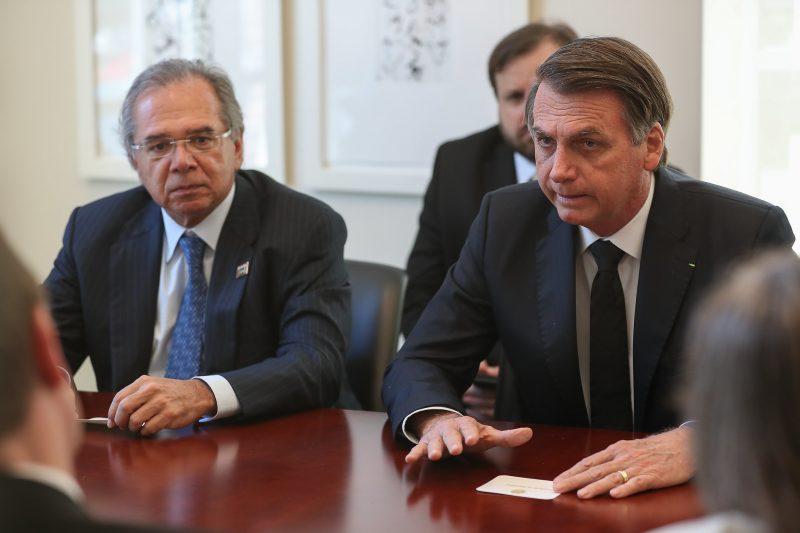 A decisão de Bolsonaro atende ao pedido feito pelo ministro da Economia, Paulo Guedes – Foto: Arquivo/Marcos Corrêa/PR
