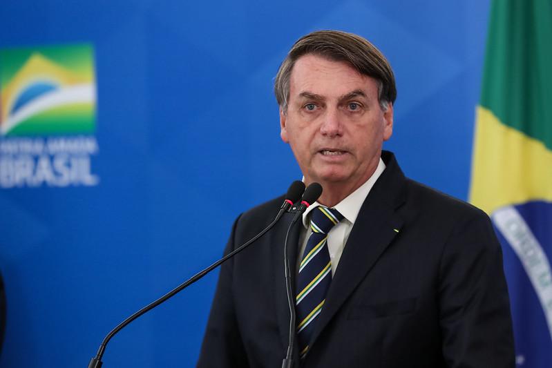 Presidente Jair Bolsonaro tem reunião para definir medida de isolamento social – Foto: Palácio do Planalto/Divulgação