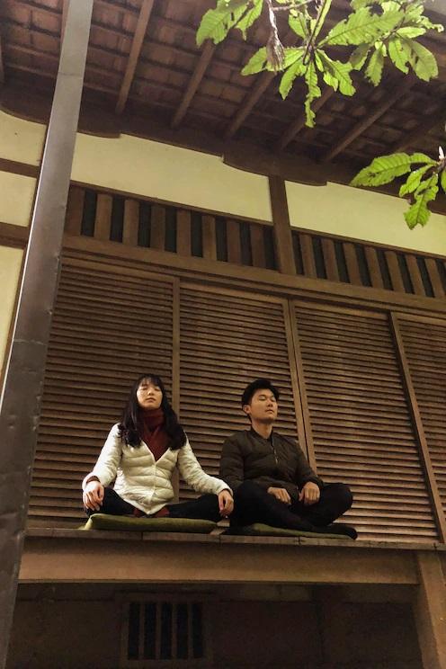 Meditação com um monge budista japonês (https://bit.ly/3be6RiC) – Preço: a partir de R$ 50 por pessoa - Crédito: Divulgação/33Giga/ND