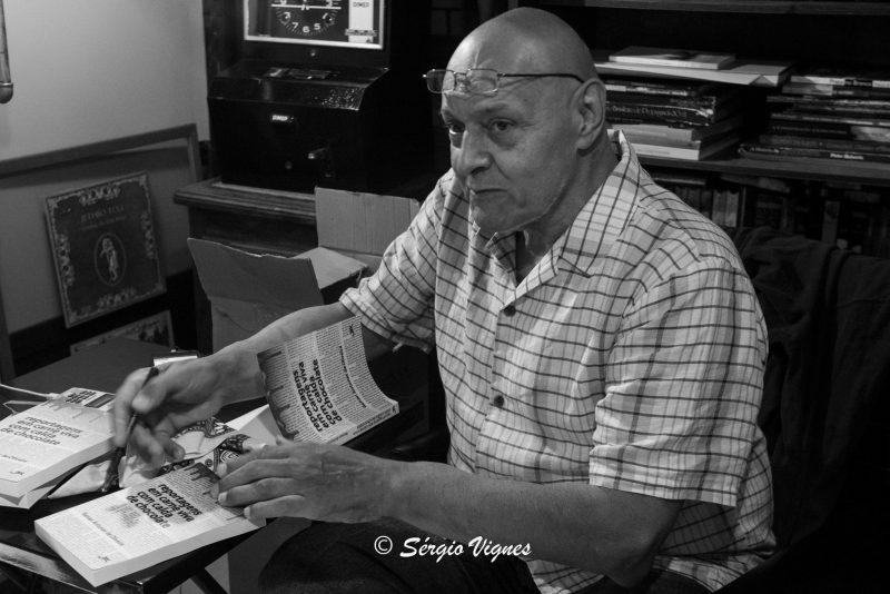 Renan Antunes de Oliveira morreu aos 71 anos em Florianópolis – Foto: Sérgio Vignes/ND