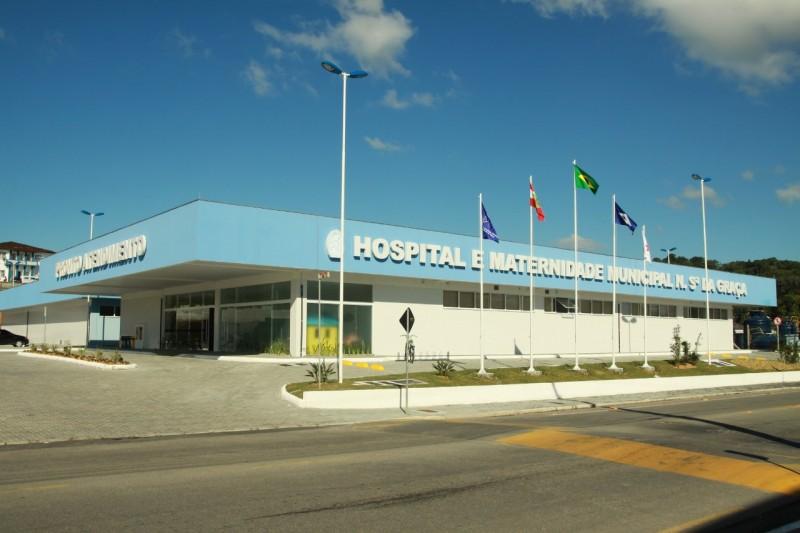 Hospital foi alvo de ataque hacker em São Francisco do Sul – Foto: Divulgação/ND