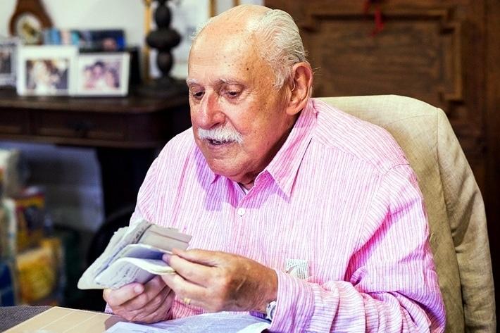 Mário Petrelli, presidente emérito e fundador do Grupo ND – Foto: Divulgação/FCF