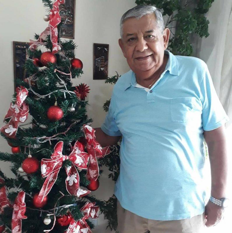 Alonso Pinto Maluenda, morador de Blumenau, morreu no dia 10 de maio na UTI do Hospital Santa Catarina. O idoso, de 83 anos, estava internado desde o dia 4 de abril. Confira a reportagem completa: https://bit.ly/2SSDjjK - Reprodução Redes Sociais/ND
