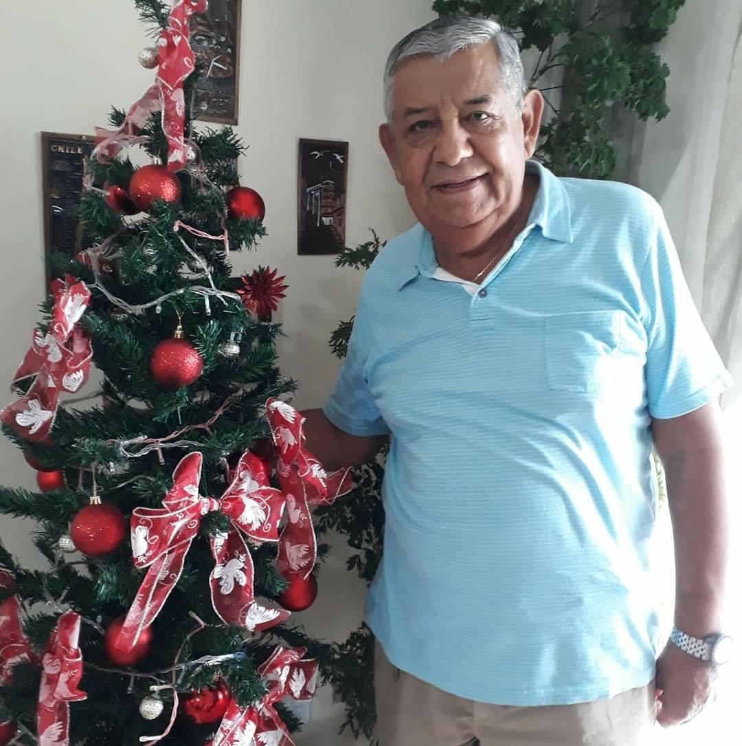 """Alonso Pinto Maluenda, morador de Blumenau, morreu no dia 10 de maio na UTI do Hospital Santa Catarina. O idoso, de 83 anos, estava internado desde o dia 4 de abril. Confira a reportagem completa: <a href=""""https://bit.ly/2SSDjjK"""">https://bit.ly/2SSDjjK</a> - Reprodução Redes Sociais/ND"""