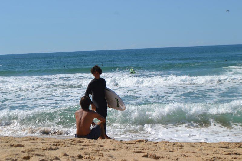 Surfe é uma das modalidades liberadas - e nominadas - pelo governo - Diogo de Souza/ND