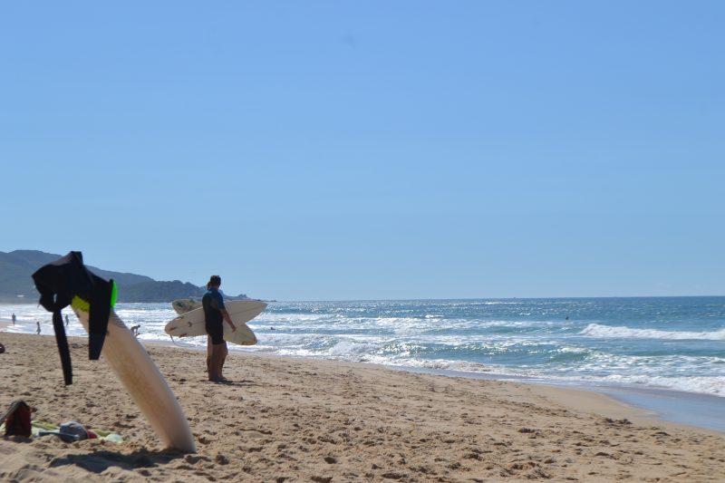 Surfe é uma prática liberada e nominada pelo governo do Estado - Diogo de Souza/ND