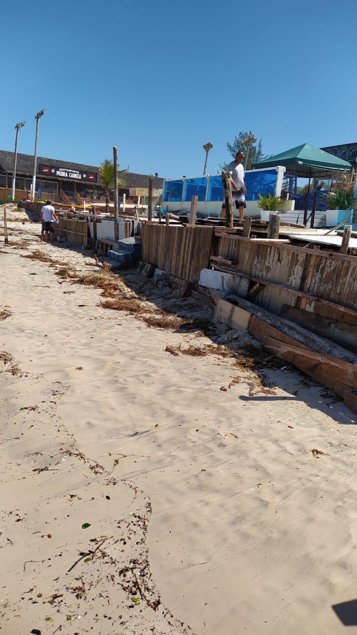 Orla de Florianópolis foi atingida por ciclone, que causou estragos - Defesa Civil Florianópolis (15)
