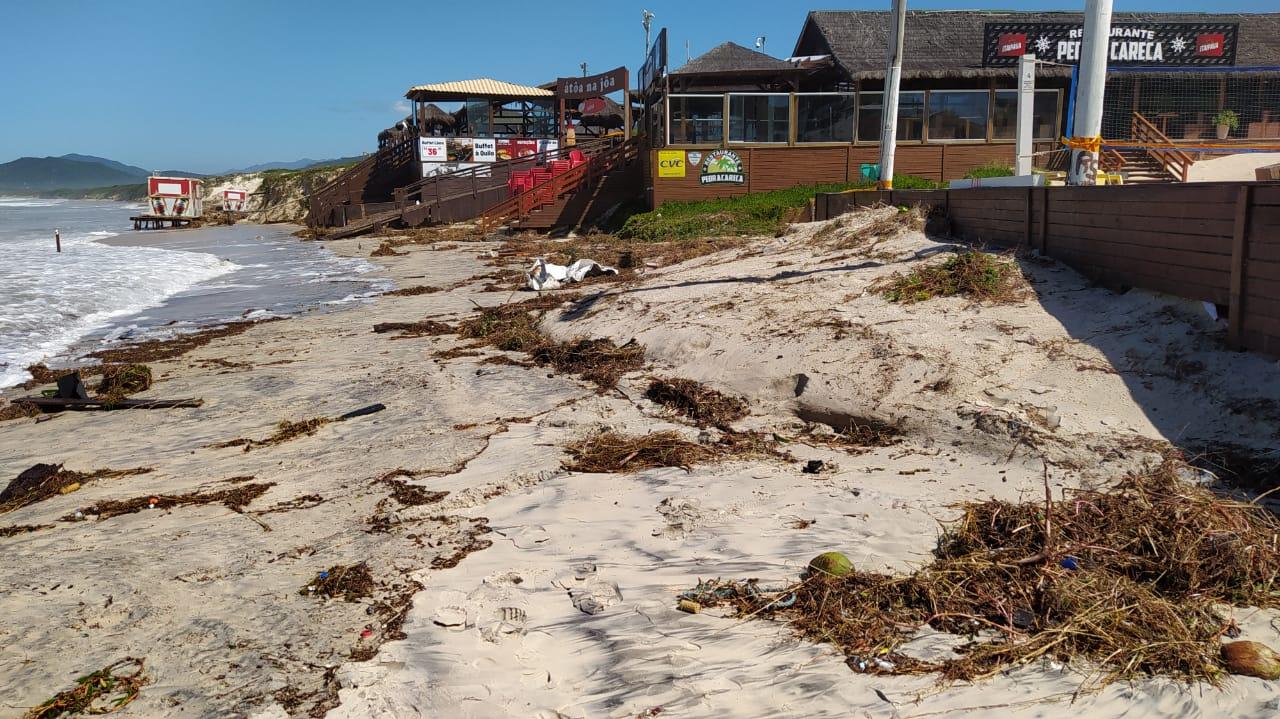 Orla de Florianópolis foi atingida por ciclone, que causou estragos - Defesa Civil Florianópolis (16)