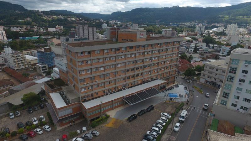 Marcos estava internado no Hospital Regional Alto Vale, em Rio do Sul – Foto: Divulgação/ND