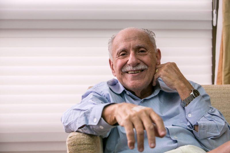Mário José Gonzaga Petrelli morreu no início da tarde desta quarta-feira (22) – Foto: Daniel Queiroz/ND/ND
