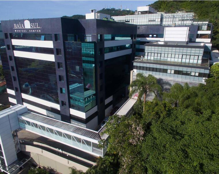 Hospital Baía Sul registra maior número de infectados por Covid-19 nesta sexta (23) – Foto: Divulgação/ND