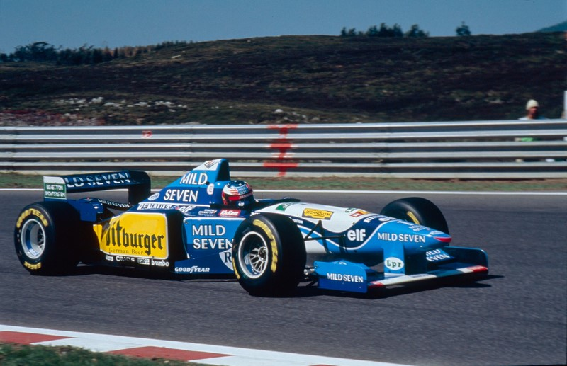 Benetton B195 (1995) - Foto: Divulgação - Foto: Divulgação/Garagem 360/ND