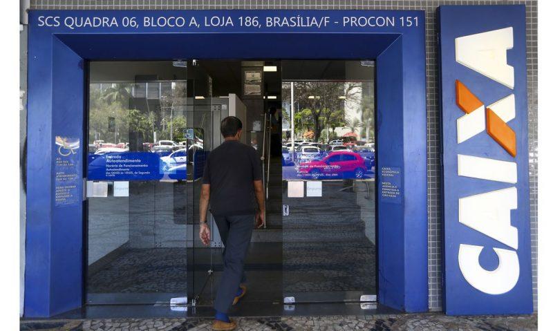 Caixa Econômica Federal inicia nesta segunda (4) o atendimento mais cedo em todo o país – Foto: Marcelo Camargo/Agência Brasil/ND