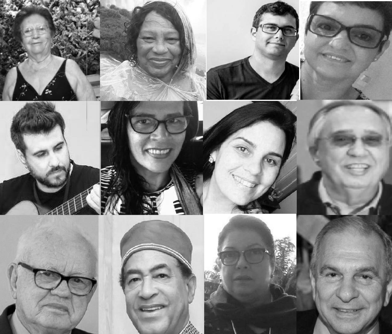 Até esta segunda-feira (13), Santa Catarina registrou 26 mortes por coronavírus em todo o Estado. Confira abaixo os catarinenses que perderam a vida na luta contra a Covid-19 - Montagem/ND