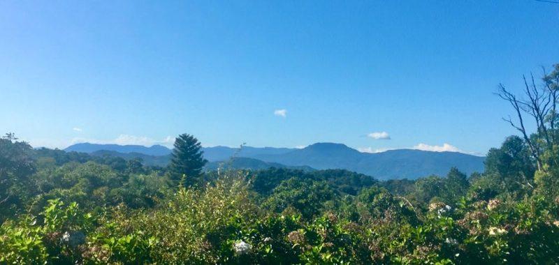 A exuberância da paisagem de Rancho Queimado atraiu a advogada paulista – Foto: Divulgação/ND