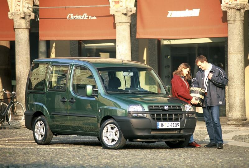 Fiat Doblò (edições do BBB e A Casa dos Artistas 2) - Foto: Divulgação - Foto: Divulgação/Garagem 360/ND