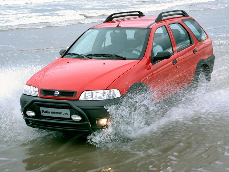 Fiat Pallio Adventure (BBB 1 - 2002) - Foto: Divulgação - Foto: Divulgação/Garagem 360/ND
