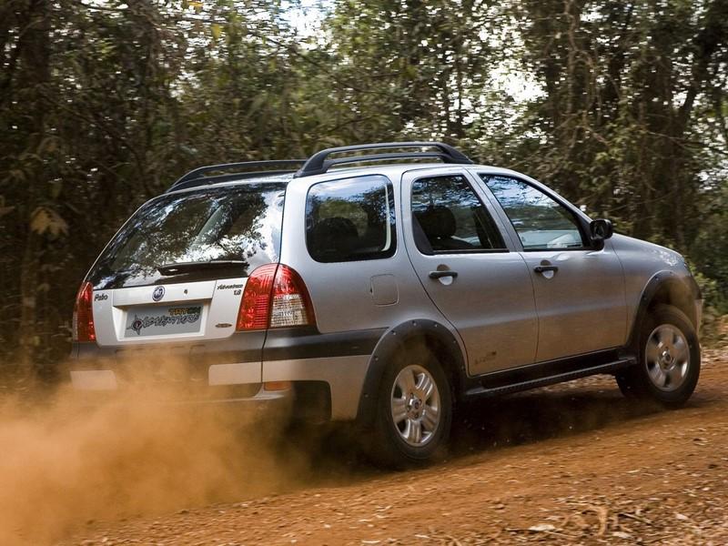 Fiat Palio Adventure (BBB 7 - 2007) - Foto: Divulgação - Foto: Divulgação/Garagem 360/ND