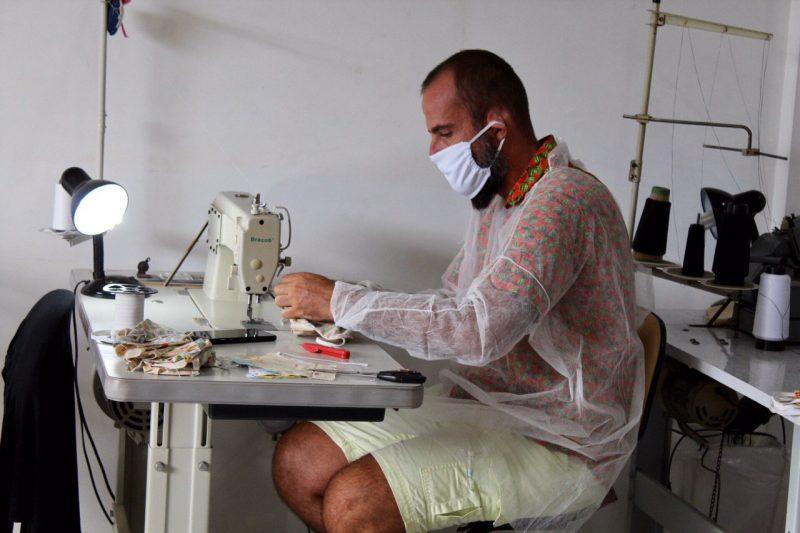 Prefeitura vai doar máscaras de tecido para a população – Foto: Secom/Divulgação/ND
