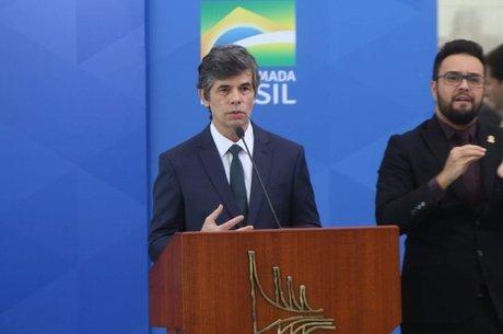 Nelson Teich admitiu escalada da Covid-19 no Brasil. – Foto: Divulgação/Ministério da Saúde